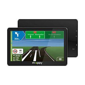 Mappy GPS Maxi E738 (cran : 7 Pouces 24 pays Mise  jour gratuite jusqu' 4 fois par an) Noir - Publicité
