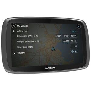 TomTom 1Fl6.002.08 GPS Trucker 6000 Info Trafic (TMC) Noir (Produit Import) - Publicité