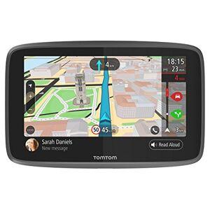 TomTom GPS Voiture GO 6200 6 Pouces, Cartographie Monde, Trafic, Zones de Danger via Carte SIM Incluse, Appel Mains-Libres - Publicité
