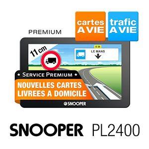 Snooper PL 2400 GPS Eléments Dédiés  la Navigation Embarquée Europe Fixe, 16:9 - Publicité