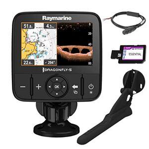 Raymarine E70293-CEUR Dragonfly-5Pro Sonar/GPS (12,7 cm (5 Zoll), integrierte CHIRP Down Vision, CPT-DVS, WiFi, EU-CMAP Essentials Kartografie) - Publicité