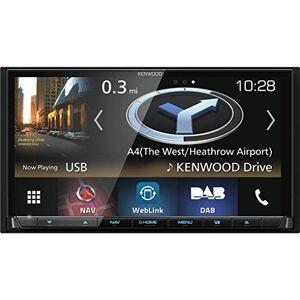 Kenwood Systme de Navigation 7'' WVGA Bluetooth Noir - Publicité