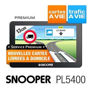 Snooper PL 5400 GPS Eléments Dédiés  la Navigation Embarquée Europe Fixe, 16:9 - Publicité