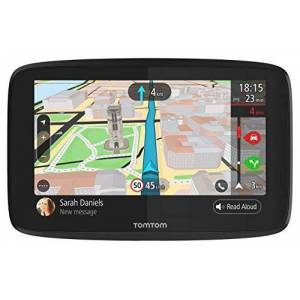 TomTom GPS Voiture GO 620 6 Pouces, Cartographie Monde, Trafic, Zones de Danger via Smartphone, Appel Mains-Libres - Publicité