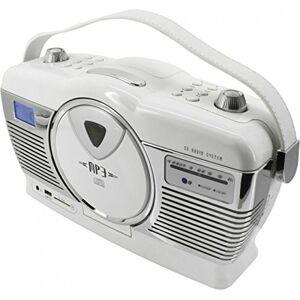 Soundmaster RCD 1350 Radio/Radio-réveil Lecteur CD MP3 Port USB - Publicité