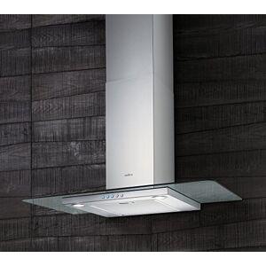Elica Flat Glass IX/A/90 Monté au mur Acier inoxydable 450m/h Hottes (450 m/h, Conduit, 59 dB, Monté au mur, Acier inoxydable, 20 W) - Publicité