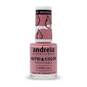 Andreia Professional NutriColor Vernis  Ongles Vegan Respirant NC12 Rose 10.5ml - Publicité