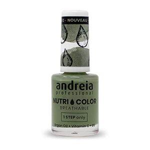 Andreia Professional NutriColor Vernis  Ongles Vegan Respirant NC20 Vert 10.5ml - Publicité