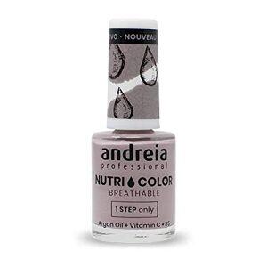 Andreia Professional NutriColor Vernis  Ongles Vegan Respirant NC6 Violet 10.5ml - Publicité