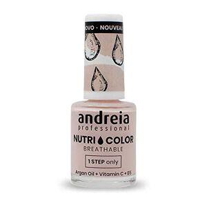 Andreia Professional NutriColor Vernis  Ongles Vegan Respirant NC10 Rose 10.5ml - Publicité