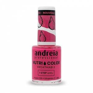Andreia Professional NutriColor Vernis  Ongles Vegan Respirant NC14 Rose 10.5ml - Publicité