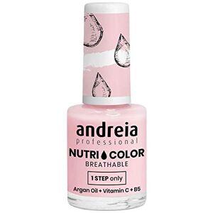 Andreia Professional NutriColor Vernis  Ongles Vegan Respirant 10.5ml (NC21 Rose Laiteux) - Publicité