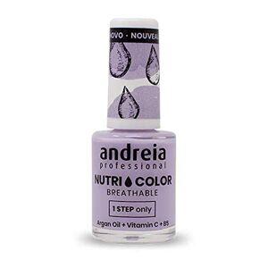 Andreia Professional NutriColor Vernis  Ongles Vegan Respirant NC18 Violet 10.5ml - Publicité