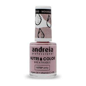 Andreia Professional NutriColor Vernis  Ongles Vegan Respirant NC5 Rose 10.5ml - Publicité