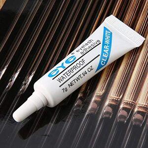 CamKpell 1 pc Femmes Beauté tanche Faux Cils Cils Maquillage Adhésif Eye Lash Colle Mince Ferme pour Un Usage Domestique-Blanc - Publicité