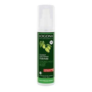 Logona 1003spraycoif Soin et Beauté du Cheveu Spray Coiffant Résines Végétales 150 ml - Publicité