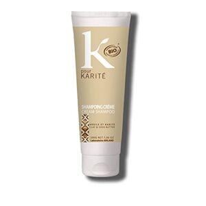 K Pour Karité Shampoing Femme Cheveux Secs Bio - Publicité