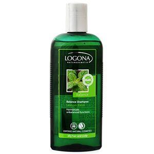 Logona Shampoing équilibré Citron Balm pour cheveux gras et cuir chevelu sensible - Publicité