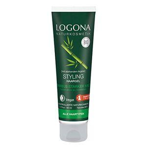 Logona Style & Shine Hair Gel - Publicité