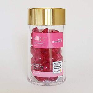 Ellips Traitement capillaire aux vitamines  l'huile marocaine 1 Jar 50 Capsule - Publicité