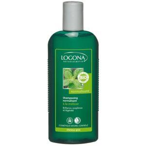 Logona 1003shanorm Soin et Beauté du Cheveu Shampooing Normalisant  la Mélisse BIO 250 ml - Publicité