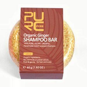 Yiwa Extrait manuel Savon Shampooing Lavant Cheveux Savon Parfum de gingembre - Publicité