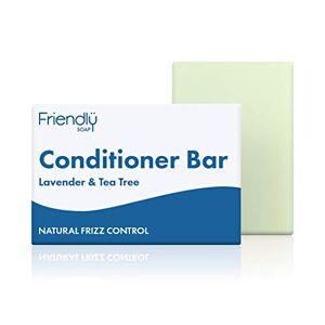 Friendly Soap Natural Lavender and Tea Tree Conditioner Bar 95g - Publicité