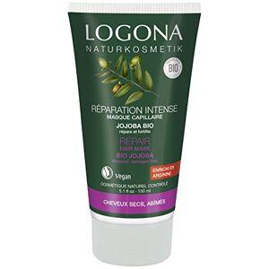 Logona 1003masrep Soin et Beauté du Cheveu Masque Réparateur Jojoba 150 ml - Publicité