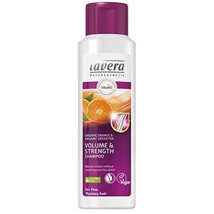 lavera Hair Volume & Strength Shampooing  Orange bio  Cheveux fins et flyaway  Vegan  Soins capillaires biologiques  Cosmétiques naturels  250 ml - Publicité