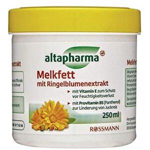 altapharma Melkfett  l'extrait de souci  la vitamine E pour protéger contre la perte d'humidité 250 ml - Publicité