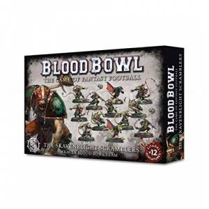 Games Workshop 10076700999 Blood Bowl : The Skavenblight Scramblers Game - Publicité