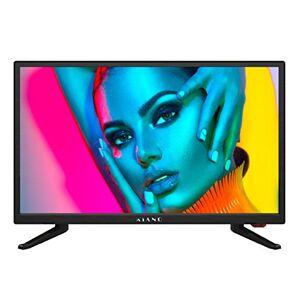 """Kiano Slim TV 22"""" Pouces [55 cm, Full HD] (Triple Tuner, DVB-T2, CI, CI+) Lecteur Multimédia Via Port USB Téléviseur 22 Pouces (PVR, Dolby Audio, HDMI, LED, Direct LED, FHD) Classe énergétique A - Publicité"""