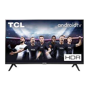 TCL TV LED HDTV 80 cm  32ES560 Wifi intégré SMART TV Android TV Tuner TNT terrestre / Cable / Satellite DVB-T2/C/S2 USB 2 x HDMI - Publicité