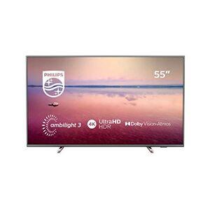 Philips TÃlÃviseur LED Ultra HD 4K 139 cm  55PUS6754 TV LED 4K 55 pouces TV connectà / Smart TV Netflix Tuner TNT terrestre / satellite Enregistrement PVR (sur USB) Prise casque Son 20 W - Publicité