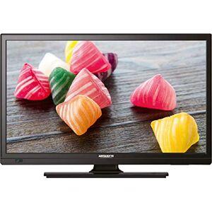 "ANTARION TV LED 19"" 48cm Télévision HD Camping Car 12V Port USB DVB-T2 - Publicité"