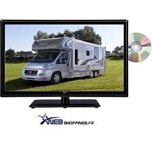 ANTARION Télévision TV + DVD LED 18.5' HD LED 12V /220V camping car - Publicité