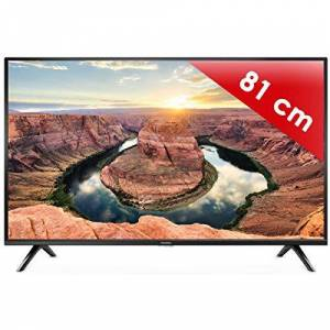 Thomson Téléviseur LED HDTV 80 cm  32HD3341 TV LED 32 pouces Prise casque Son 2 x 5 W - Publicité