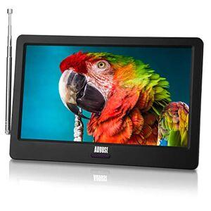 """August DA900D TV portable 9"""" TNT HD LED  Batterie Rechargeable Television Enregistreur et Lecteur Multimédia Mini Télé Port USB, HDMI, Voiture Camion, Camping-Car, Caravane, compatible 12V - Publicité"""