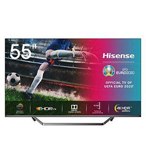 "Hisense U7QF 55U7QF TV 139,7 cm (55"") 4K Ultra HD Smart TV WiFi Noir U7QF 55U7QF, 139,7 cm (55""), 3840 x 2160 Pixels, LED, Smart TV, WiFi, Noir - Publicité"
