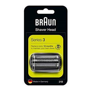 Braun Pièce de Rechange pour Rasoir 21B Compatible avec les Rasoirs Séries 3 Noir - Publicité