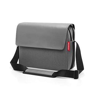 Reisenthel courierbag 2 Canvas Sac bandoulire, 35 cm, 10 liters, Gris (Grey) - Publicité
