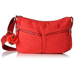 Kipling Izellah, Sacs bandoulière femme, Rouge (Active Red) - Publicité