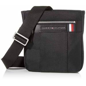 Tommy Hilfiger Elevated Nylon Mini Crossover, Besace homme, Noir (Black), 1x1x1 cm (W x H L) - Publicité