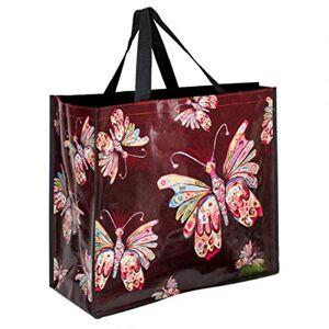Allen Designs [P5658] Sac Shopping Design 'Allen Designs' Papillons 46x40x19 cm - Publicité