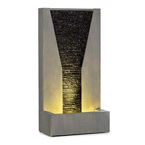 blumfeldt Riverrun Fontaine de Jardin : Pompe: 12W / 800 l/h / IPX8, Indoor & Outdoor, Jeu d'eau dans Le Concept LoopFlow, cble de 10 m avec fiche de sécurité, Aspect béton/Ardoise - Publicité