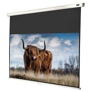 celexon cran de Projection Manuel 4K et FullHD pour écoles, Entreprises et Home Cinéma Economy 180x102cm 16:9 Gain 1,0 - Publicité