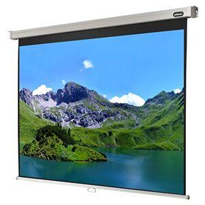 celexon cran de Projection Manuel 4K et FullHD pour écoles, Entreprises et Home Cinéma Pro 160 x 120cm 4:3 Gain 1,2 - Publicité