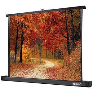 celexon Ecran de Table pour projecteur Mobile Professional Mini avec rétraction Automatique 86 x 61 cm 4: 3 Gain 1,2 - Publicité