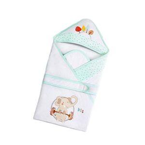 MHMTSY Sac de couchage bébé Automne et Hiver Coton Sac de couchage Doublure Amovible 0-12 mois Bébé Bébé Femme Bébé - Publicité