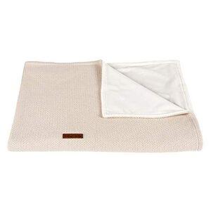 Baby's Only BO  Couverture berceau soft Classic Sable 70x95 cm 50% coton/50% acrylique - Publicité